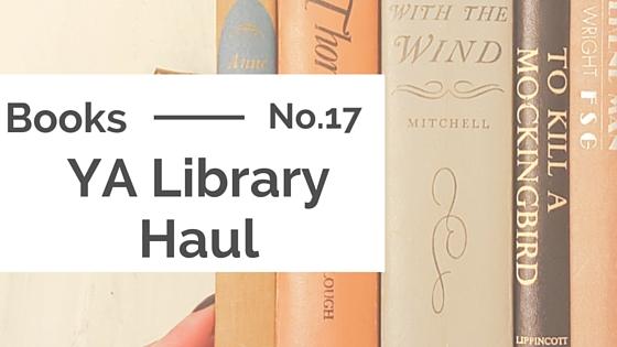 Books :: YA Library Haul