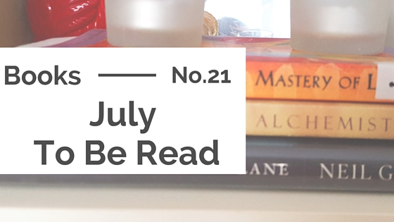 Books :: July To Be Read