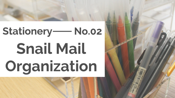 Stationery :: Snail Mail Organisation