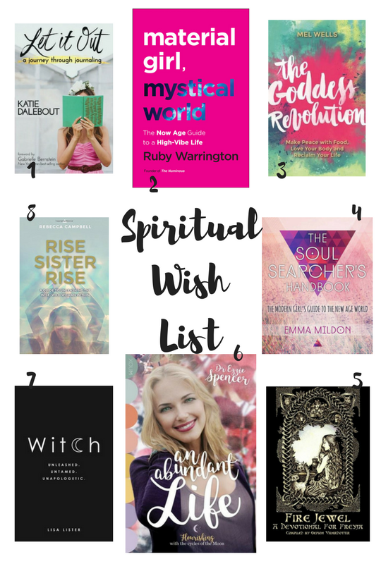 spiritual wish list